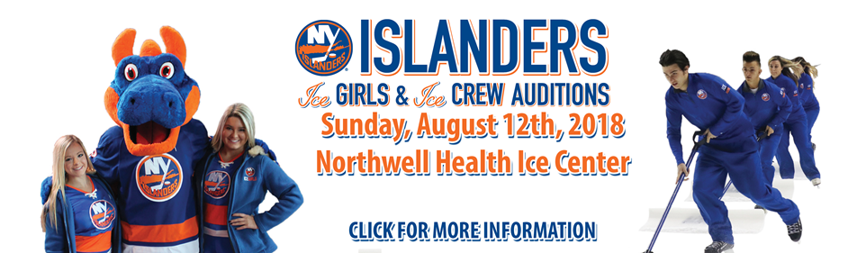 Islander Ice Girl and Ice Crew Auditions-Click for Information